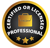 Certified or Licensed Professional